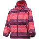 Color Kids Tadimir AOP Softshell Jacket Girls Magenta Purple